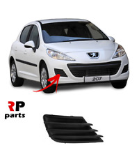 FOR PEUGEOT 207 2009-2012 FRONT BUMPER FOG GRILLE COVER HIGH QUALITY RIGHT O/S