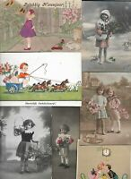 Lot of Vintage Kids Theme Postcards of 20   01.16