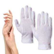 100% COTTON GLOVES Dry Cracked Hard Skin Eczema Treatment Ointment Cream Spa