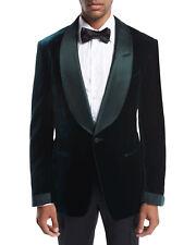 Men Jacket Blazer Coat Green Smoking Elegant Luxury Stylish Designer Party Wear