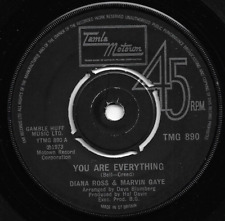 DIANA ROSS & MARVIN GAYE - YOU ARE EVERYTHING / INCLUDE ME IN YOUR LIFE - MOTOWN