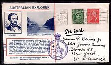 AUSTRALIA 1948 ROYAL GEOGRAPHICAL SOCIETY OF AUSTRALIA  SPECIAL  COVER