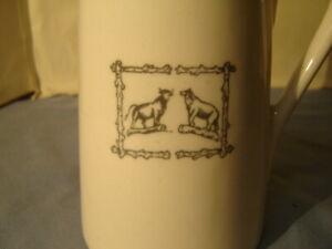 Vintage Mayer Bull & Bear Steakhouse & Bar Waldorf Astoria Hotel NY Coffee Pot