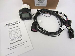 Mercury Marine Quicksilver Smartcraft SC1000 System Monitor Kit  PN 79-879896K21