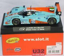 Slot.it CA39B - Lola B12/80 24hr Le Mans 2012 - 1 32 Slot Car Suits Scalextric