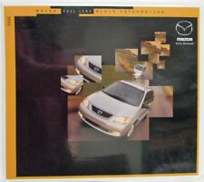 2000 Mazda Full Line Press Kit - Protege Miata Millenia 626 MPV