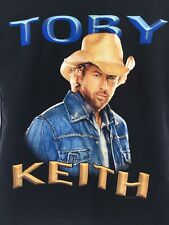 """Vintage Toby Keith Concert T-Shirt Size M Double Sided """"Good Once As I Ever Was"""""""