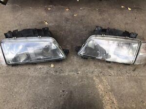 Peugeot 405 Headlights And Indicators Lights Front
