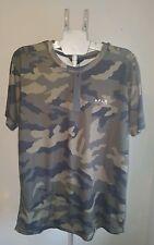 Mens Alphalab CamouflageT-Shirt Crew Neck Short Sleeve Slim Fit Tee Size XL NWT