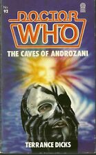 Paperback Book - DOCTOR WHO -  The Caves of Androzani - Terrance Dicks - #92