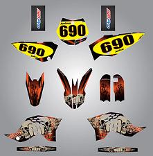Custom graphics for KTM 65 2009 - 2015 Reaper Style full sticker kit