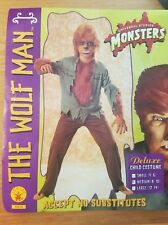 Child Wolfman Werewolf Halloween Costume Scary Teen Wolf Universal medium 8-10