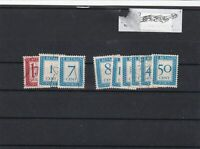 netherlands postage due stamps ref 16662