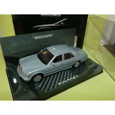 BENTLEY ARNAGE R Bleu Gris clair MINICHAMPS 1:43