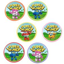 12 Super Wings Rings cupcake toppers - birthday party favor pinata cake toys