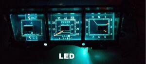 1980-1983 Lincoln Mark VI Gauge Instrument Cluster - LED bulb upgrade! 80-83
