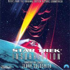 1 CENT CD Star Trek: Insurrection [SOUNDTRACK] jerry goldsmith
