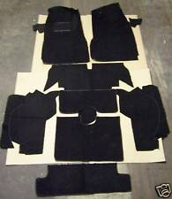 CHEVY CORVETTE CONVERTIBLE 1965 1966 1967 BLACK LOOP CARPET KIT WITH 20 OZ PAD