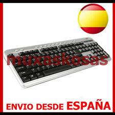 TECLADO ORDENADOR PC SOBREMESA ESPAÑOL CON Ñ - PS2 - ENVIO DESDE ESPAÑA