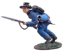 NEW Union Iron Brigade Infantryman Charging #1 Britains #31055 Keith Rocco