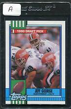 1990 Topps Jeff George RC #298 Mint (A)