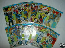 """X-MEN. """"X-CUTIONER'S SONG"""". COMPLETE 12 COMIC STORY.ALL SEALED + TRADING CARDS"""