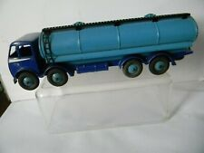 EARLY  DINKY  504  FODEN FUEL TANKER  blue/ blue   1st CAB  excellent