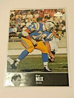 1997 Upper Deck Legends Football #52 - Ron Mix - San Diego Chargers
