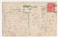 Mrs Read, High Street, Walsham le Willows 1922 Postcard, B114