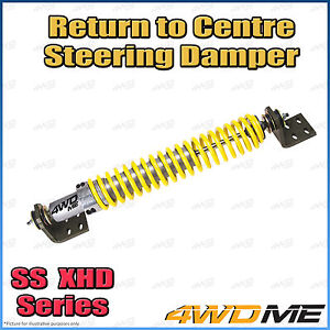 "Ford F250 4WD XTRA HD RTC Return to Centre Steering Damper Heavy Duty 4"" + Lifts"