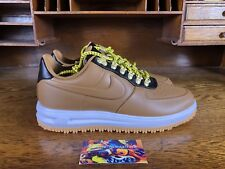 cb4c50491e924 NIKE LUNAR FORCE 1 LF1 DUCKBOOT Mens Low Top Ale Brown AA1125-200 NEW Sz