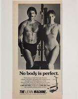 Original 1984 THE LEAN MACHINE & Abercrombie Advertisement ~ Vintage Print Ad