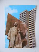 AK, Postkarte Leninplatz, Berlin - Hauptstadt der DDR, Tomski, Plattenbau, 1974