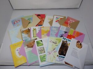 Get Well Greeting Card Lot x20 All Different Cards with Envelopes New B3