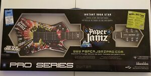Paper Jamz Pro Series Guitar Red Yellow #6288 Instant Rock Star WowWee NEW