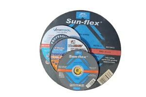 Metal Cutting Discs Angle Grinder 115mm 125mm 180mm 230mm thickness 1mm - 2.5mm