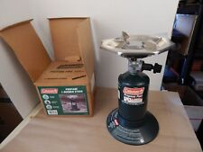 COLEMAN Propane GAS CAMP STOVE New Old Stock 1990 Unfired in Box