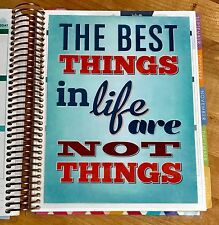 The Best Things in Life Two Sided DASHBOARD for use with Erin Condren Planner