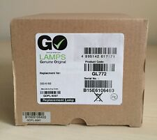 Go Lamps GL772 Projector Lamp for Dell 330-6183, Dell 725-10196, Dell 1410X