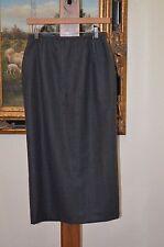LAUREN RALPH LAUREN Long Gray Wool Lined Skirt SZ 6 NWT $158.00