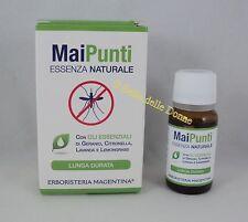 ERBORISTERIA MAGENTINA MaiPunti 10ml essenza naturale antizanzare olio geranio