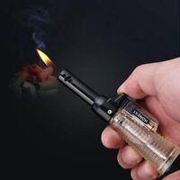 Torch Lighter Cigar Cigarette Refillable Butane Gas Flameless Assorted Lighters