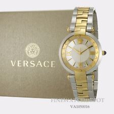Authentic Ladies Versace Revive Two-Tone Stainless Steel Watch VAI050016