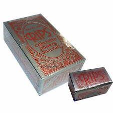 24 RIPS RED REGULAR MEDUIM Cigarette rolling papers NEW