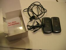 Lot of 2 Verizon Lg Accolade Flip Phones w/ Literature in Orig Box