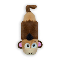 Petstages Just For Fun No Stuffing Plush LiL Squeak for Small Dogs Monkey