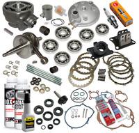 kit pack haut moteur Am6 moto Malaguti Drakon Naked Xsm Xtm 50CC 2t complet neuf
