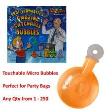 Mini Touchable Magic Bubbles Kids Birthday Party Bag Fillers Gifts