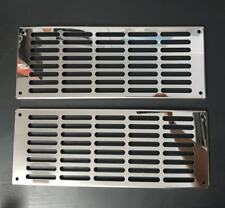 Stainless Steel Kenworth K108 Front Cab Vent Covers (PAIR)