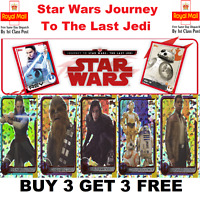 TOPPS STAR WARS - Journey To The Last Jedi FOILS And GOLD FOILS BUY 3 GET 3 FREE